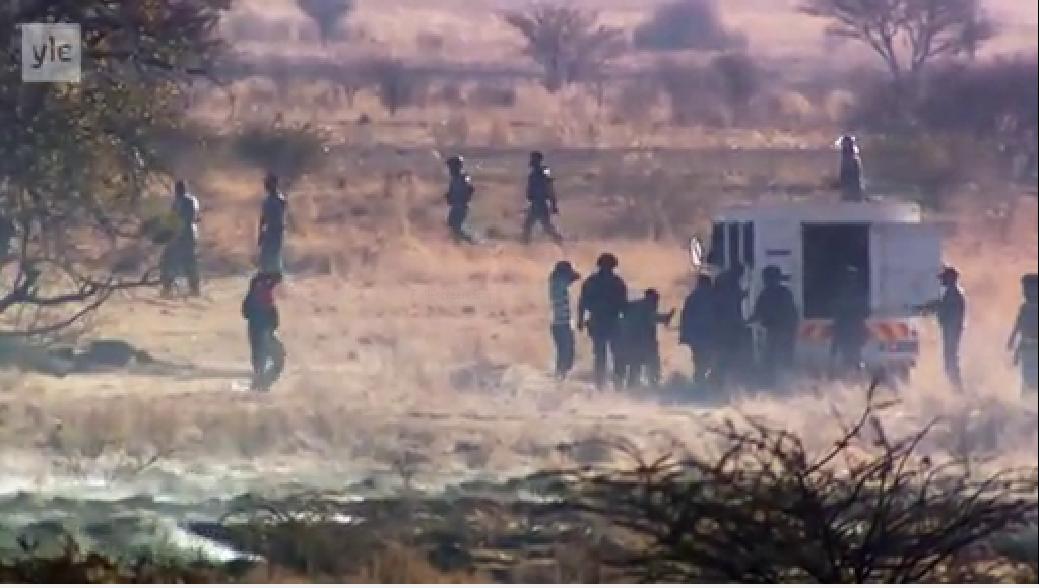 فیلم مستند کشتار معدنچیان ماریکانا – آفریقای جنوبی