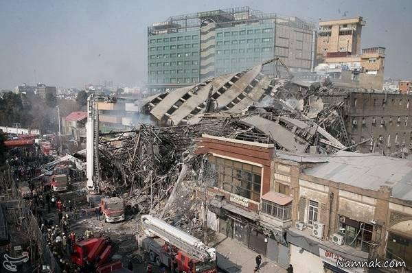 علت اصلی فاجعه پلاسکو وجود جمهوری اسلامی سرمایه داری است.