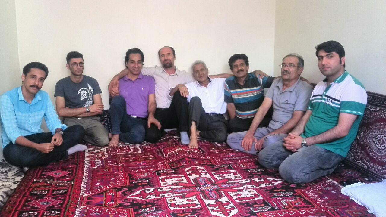 دیدار جمعی ازاعضای کمیته پیگیری ایجادتشکل های کارگری با محمد جراحی در تبریز
