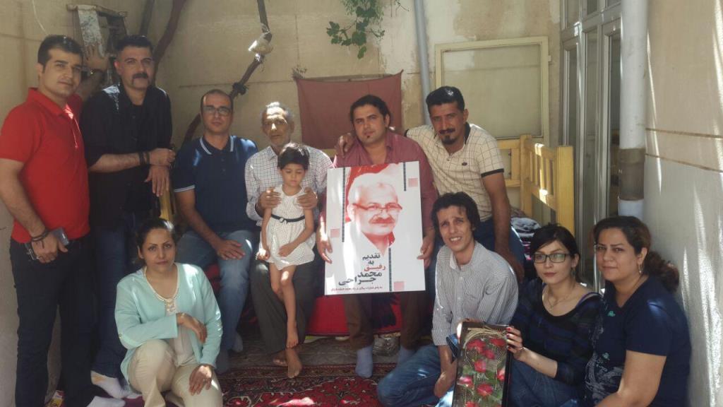 دیدار فعالین از رفیق محمد جراحی