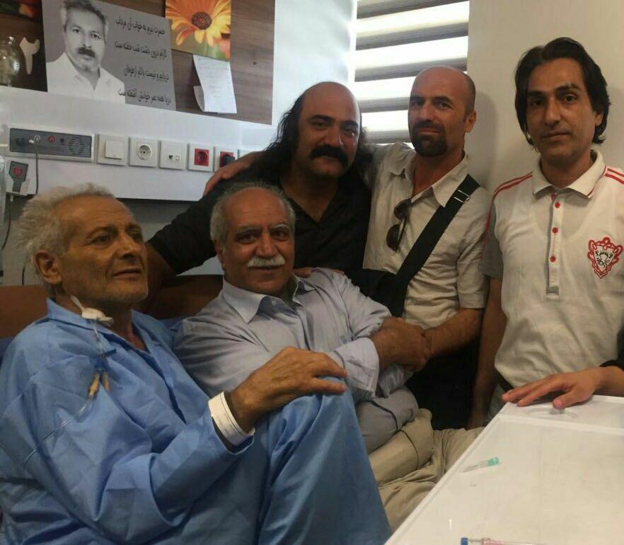 دیدار جمعی از فعالان کارگری ولغو کار کودک با فعال کارگری محمد جراحی.